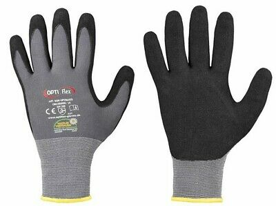 Wonder Grip Gloves WG-500 EN388 Flex Latex Oil Proof Nitrile Work Gloves