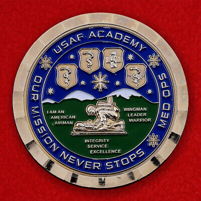 "Challenge coin ""From commander of 10th Medical squadron US air force Academy"""