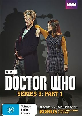 Doctor Who : Series 9 : Part 1 (ep 1-6) DVD NEW & Sealed - BBC 2015 R4
