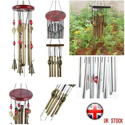 Outdoor Wind Chimes Bell Copper Ornament Windbell Yard Garden Home Wood Decor