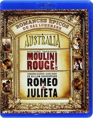 Pack Romances épicos: Australia / Moulin Rouge / Romeo Y Julieta (1996) (Blu-Ray