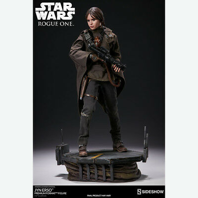 SIDESHOW Star Wars Rogue One Jyn Erso Premium Format Figure Statue NEW SEALED