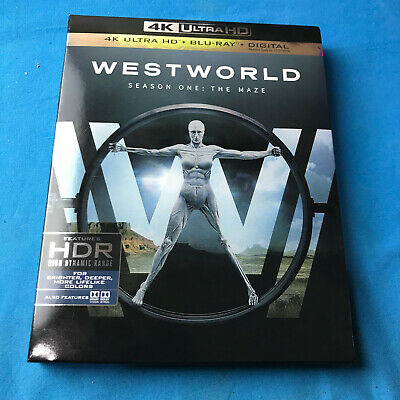 Westworld: The Complete First Season (4K Ultra HD Disc only +Case & Slipcover