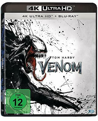 Venom Mit Tom Hardy 4K Ultra Hd + Blu-Ray Deutsch