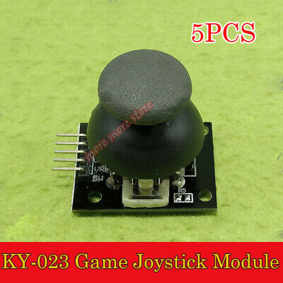 5pcs 5V Dual-axis XY Thumb KY-023 Game Joystick Module Rocker PS2 for Arduino