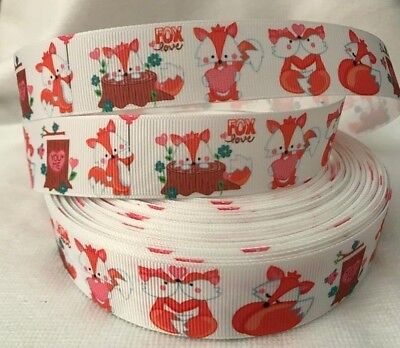 Fox Grosgrain Ribbon sold by 2M - Hair - Craft- scrapbooking