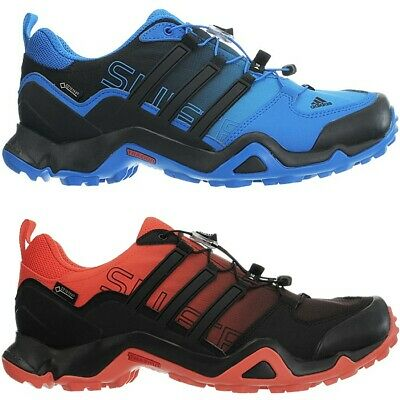 the latest fa3f7 9399b Adidas Terrex Swift R GTX mens trekking boots blue orange hiking outdoor  NEW