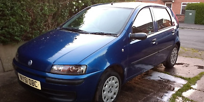 Fiat Punto ELX  2001 (51) 5dr spares or repair / nice project