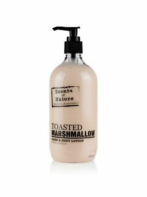 Scents of Nature by Tilley Body Lotion - Toasted Marshmallow - Australian Made