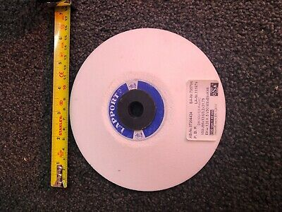 Lapport Grinding Wheel WHITE 150mm Diameter Dished - See Label Jones Shipman