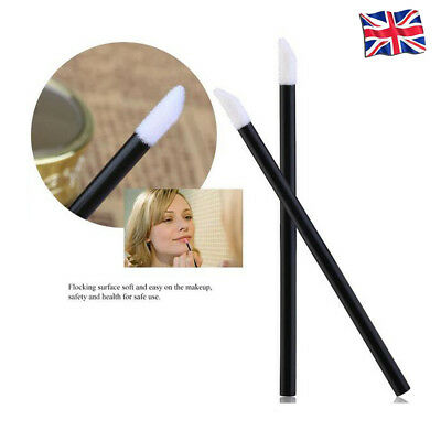 10/25/50/100X Disposable Lip Brush Applicator Lipstick Makeup Tool Cosmetic