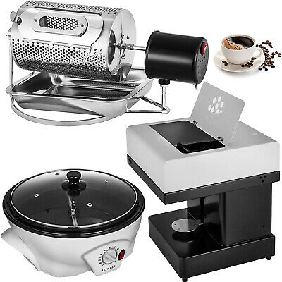 Commercial Coffee Roaster &Coffee Bean Roasting Machine &Coffee Milk Printer
