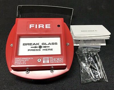 Thorn / Tyco Fire CP540Ex Ex Manual Callpoint - 514.001.023 - Intrinsically Safe