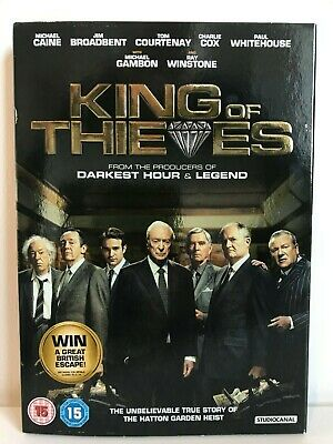 King of Thieves (2019 DVD) Michael Caine, Jim Broadbent, Ray Winstone
