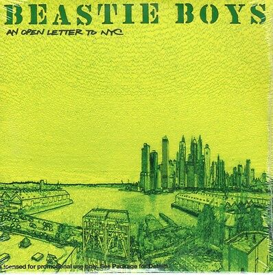 Beastie Boys – An Open Letter To NYC  PROMO SAMPLER Card sleeve 2004