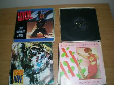 Job Lot 50 Named Singles From The New Wave Era And Early 80S Vinyl 7' Collection