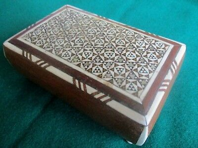 Art  deco style small inlaid box