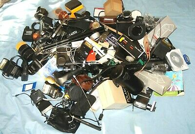 #c1 - A Joblot Of Camera  / Photo Bits And Accessories