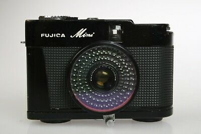 Fuji Fujica MINI Half Frame Camera 35mm Rare & Tiny! Working! JAPAN