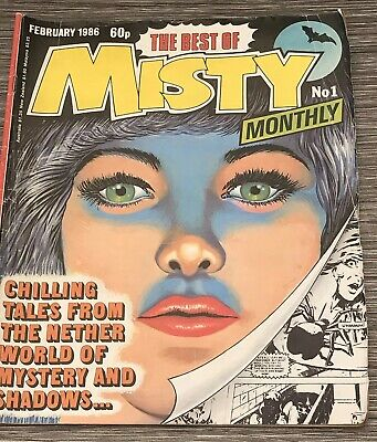 The Best Of Misty Monthly Comic No 1 First Edition Debut February 1986 - Rare !!