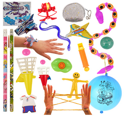 PARTY BAG FILLERS Kids Toys 1-50 Girls Boys Games Childrens Prizes