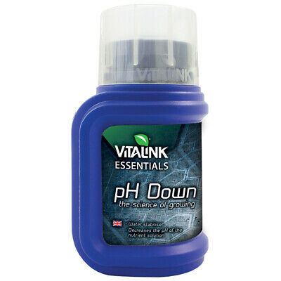 Reductor / Bajador de pH Down para cultivo VitaLink Essencial 81% (250ml)