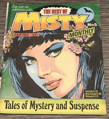 The Best Of Misty Monthly Comic No 5 Fifth Edition June 1986 - Rare !!