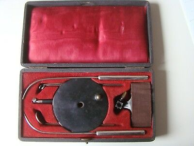 Antique Medical Dental Surgical Doctor Head Mirror In Original  Box 1850