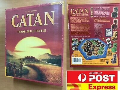 Settlers of Catan Main base game or the Expansion pack, fantastic  board game!