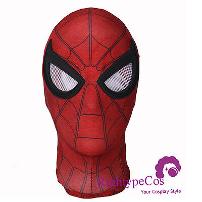 Adult SpiderMan Homecoming Mask Tom Holland Spiderman With The Best Lens