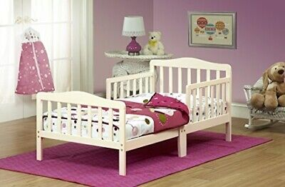 401 French White Toddler Bed