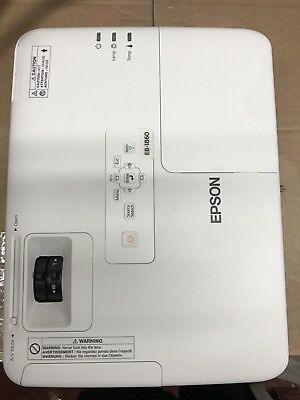 Epson EB 1860 XGA Projector Business Or Home 3LCD Multimedia