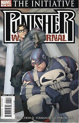 The Punisher War Journal  #11  Marvel Comics 2007 The Initiative