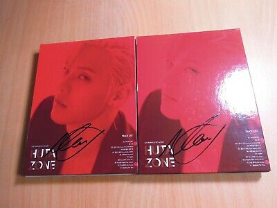 Lee Minhyuk (BTOB) - Hutazone (1st Solo promo) with Autographed (Signed) x2