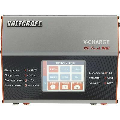 Voltcraft V-Charge 120 Touch Duo Modellbau-Multifunktionsladegerät 12V GEBRAUCHT