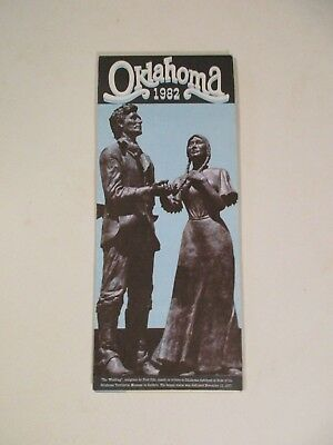 1982 Oklahoma Diamond Jubilee Official State Highway Road Map