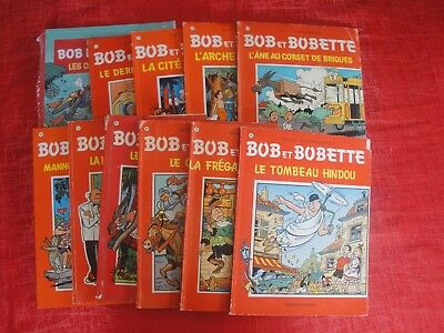 Lot 18. 11 albums Bob et Bobette dont 3 Editions originales