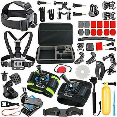 51in-1Sport Camera Accessories Kit for GoPro Hero 7,6,5,4Black,Hero Fusion,SJCAM