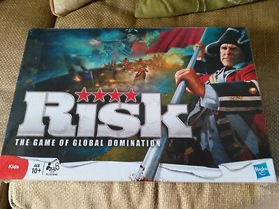 Hasbro Risk The Game of Global Domination, Kids 10+,board game, 2010, new/sealed