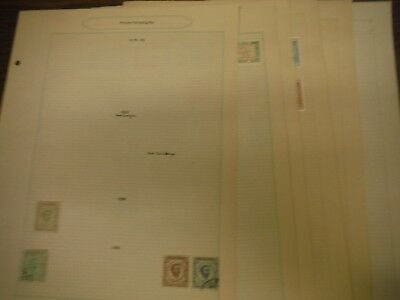 WPPhil Montenegro Stamps Accumulation on Pages 44 Total Stamps Mixed Mint Used