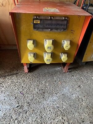 10 KVA 3 phase 110 volt 16/32 Amp Electric Site Transformer