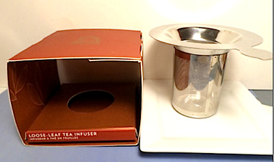 NEW TEAVANA Stainless Steel Loose Leaf Tea Infuser Strainer