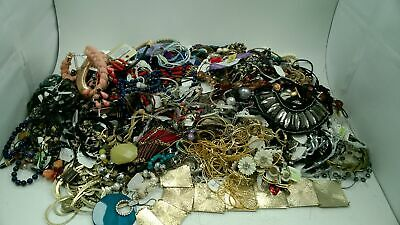 Huge JOB LOT 6.95KG  Mixed Unsorted Costume Jewellery #769