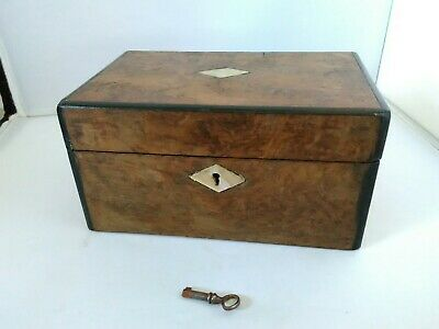 Small Vintage / Antique Mother Of Pearl Sewing Box / Jewellery Box