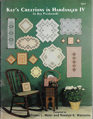 Kay's Creations in Hardanger IV - Meier & Watnemo embroidery