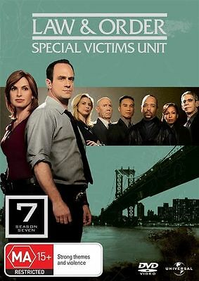 Law And Order SVU - Special Victims Unit : Season 7 DVD : NEW