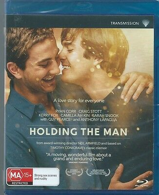 Holding The Man Blu Ray ( Gay Themes)Brand New & Sealed Region B Free Post