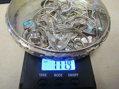 117.9 grams Scrap Sterling Silver for recovery or use