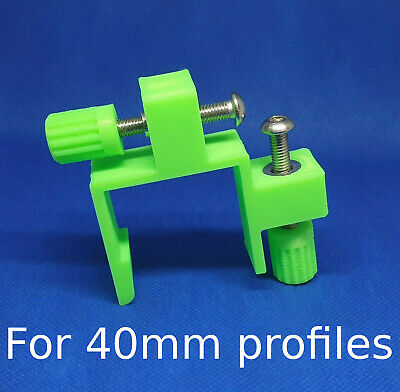 40mm Profile stabiliser clips brackets set 2 Brick laying wall Building blakes