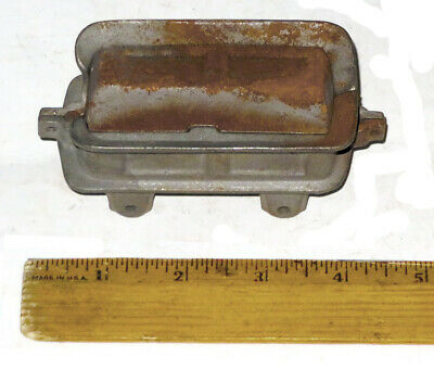 Antique Floor Train Tender -- Cast Iron